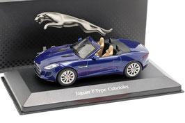 Jaguar F-Type Roadster Phase I 2013-2020 RHD dunkelblau met.