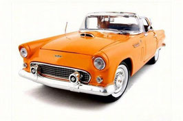 Ford Thunderbird Convertible Hardtop 1956 orange / weiss