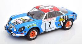 Renault Alpine A110 #7 Tour de Corse 1973 J-L. Therier / M. Callewaert blau / Decor
