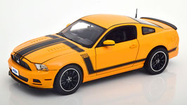 Ford Mustang Boss 302 2012-2013 orange / schwarz