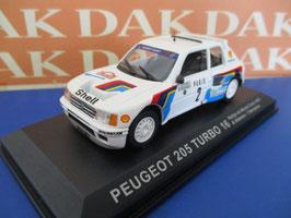 Peugeot 205 T16 #2 Rallye Monte Carlo 1985 A. Vatanen / T. Harryman