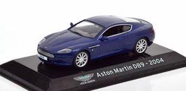 Aston Martin DB9 Coupé Phase I 2004-2008 dunkelblau met.