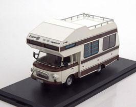 Barkas B1000 Wohnmobil 1973 weiss / braun