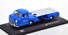 """Mercedes-Benz Rennwagen-Schnelltransporter """"Das blaue Wunder"""" 1955 blau / silber"""