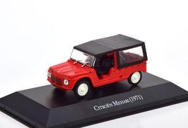 Citroën Mehari 1971 rot / schwarz