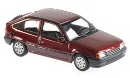 Opel Kadett E Phase II 1989-1991 dunkelrot met.