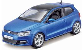 VW Polo V GTI Phase I 2010-2014 blau met.