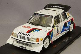 Peugeot 205 T16 E2 #4 Peugeot Talbot Sport Rallye Monte Carlo 1986 J. Kankkunen / J. Pironen