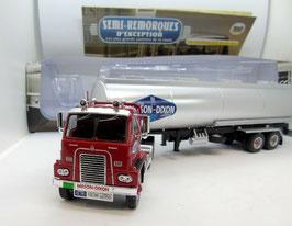 International Harvester DCOF 405 Sattelschlepper 1597-1964 dunkelrot / silber / blau