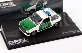 Opel Corsa A Phase I 1982-1990 Polizei Deutschland weiss / grün