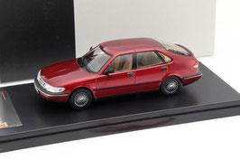 Saab 900 V6 1993-1999 dunkelrot met.