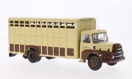 "Unic ZU 66 TB 1958 Viehtransporter ""Le Charolais"" biege / braun"