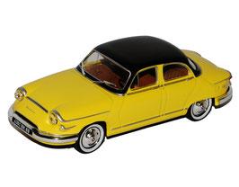 Panhard PL 17 Tigre 1960-1962 gelb / schwarz