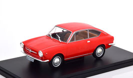 Seat / Fiat 850 Coupé Phase I 1968-1971 rot