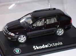 Skoda Octavia II Combi Phase I 2004-2009 schwarz met.