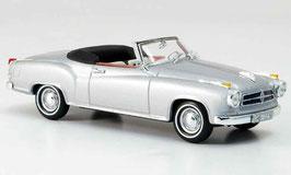 Borgward Isabella Coupé Cabriolet 1957-1962 silber