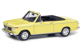 BMW 2002 Cabriolet Baur 2/2 1968-1971 gelb