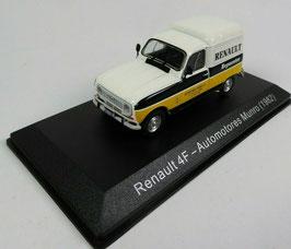 """Renault 4 F """"Automotores Munro 1982"""" weiss / gelb / schwarz"""