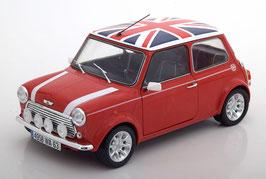Mini Cooper 1.3i Sport Pack MK VII 1996-2000 rot / Dach mit Union Jack Flagge