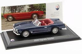 Maserati 3500 GT Spyder Vignale 1960-1964 dunkelblau
