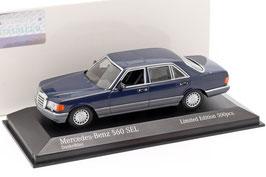Mercedes-Benz 560 SEL V126 1987-1991 dunkelblau