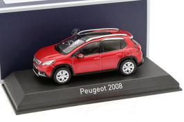 Peugeot 2008 Phase II seit 2016 dunkelrot met.