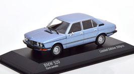 BMW 5er E12 Phase I 1972-1976 Fjord blau met.