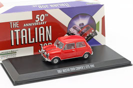 "Austin Mini Cooper S 1275 MK I 1967 RHD rot ""Film The Italian Job 1969"""