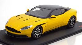 Aston Martin DB11 Coupé seit 2017 gelb met. / schwarz