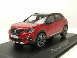 Peugeot 2008 II seit 2020 Elexir rot met. / schwarz