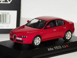 Alfa Romeo 159 Q4 Berlina 3.2 JTS V6 24V 2005-2010 dunkelrot met.
