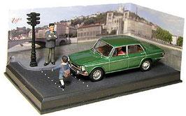 Simca 1501 S Berline 1966-1976 grün met. Diorama