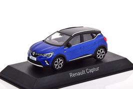 Renault Captur II seit 2020 blau met. / schwarz