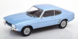 Ford Capri MK I 1600 GT Phase II 1973-1973 hellblau met. / schwarz