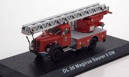 Saurer 2DM DL30 Feuerwehr Herisau AR 1971 rot