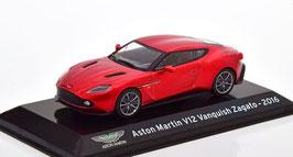 Aston Martin Vanquish Zagato 2016-2018 dunkelrot met. / schwarz