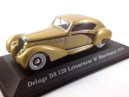 Delage DB 120 Letourneur & Marchand 1939 gold met. / dunkelbraun