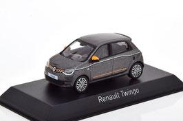 Renault Twingo III Phase II seit 2019 dunkelgrau met. / orange / weiss
