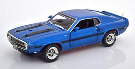 Ford Mustang Shelby GT-350 1969 dunkelblau met. / schwarz