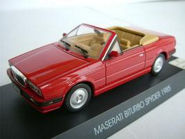 Maserati Biturbo Spyder Phase I 1984-1988 rot