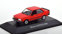 Renault 18 GTX Phase II 1981-1998 rot Aargentinia