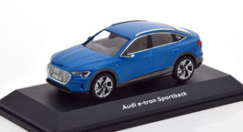 Audi e-tron Sportwagen GE seit 2020 blau / schwarz