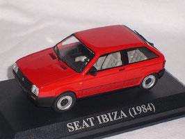 Seat Ibiza I 1.5 GLX 3-türig Phase I 1984-1991 rot
