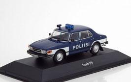 "Saab 99 Phase IV 1983-1984 ""Poliisi Finnland dunkelblau / weiss"""