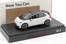 VW ID.3 Electric ab 2020 weiss met. / schwarz