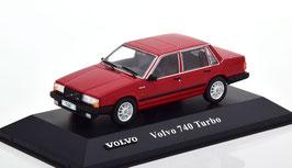 Volvo 740 Turbo 1984-1989 dunkelrot
