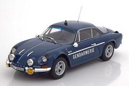 """Renault Alpine A110 1600 S """"Gendarmerie 1971 dunkelblau / weiss"""