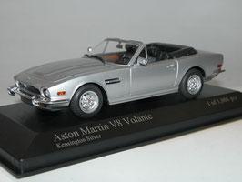 Aston Martin V8 Volante 1978-1986 Kensington silver met.