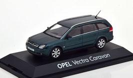 Opel Vectra C Caravan Phase I 2003-2005 dunkelgrün met.