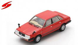 Subaru Leone Sedan 1800 1979-1984 RHD rot / schwarz